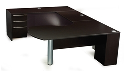 Maverick series U shaped Executive Desks by Maverick Desk