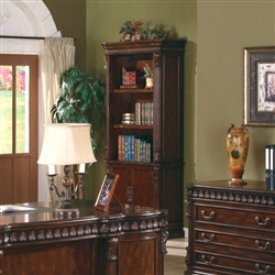 Coaster Union Hill Open Bookcase With Storage Base 800803