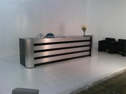 Faustinos Le Fantome Reception Lobby Desks With Counter