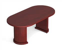 Offices To Go Margate Racetrack Conference Table With Two