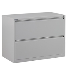Office Star Lf236 2 Drawer Metal Lateral File Cabinet 36